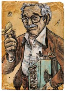 GGM  ilustracion Santiago Guevara[1]